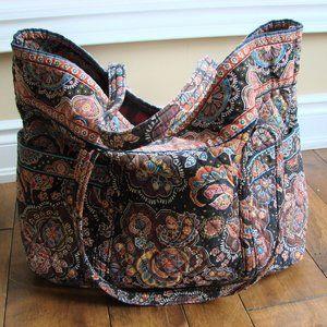 Vera Bradley Diaper Overnight Weekend Bag Tote